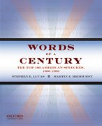 Cover for Words of a Century
