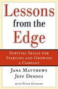Cover for Lessons From the Edge
