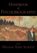 Cover for Handbook of Psychobiography
