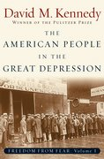Cover for The American People in the Great Depression
