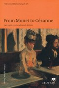Cover for From Monet to Cezanne