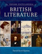 Cover for The Oxford Encyclopedia of British Literature