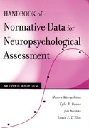 Cover for Handbook of Normative Data for Neuropsychological Assessment