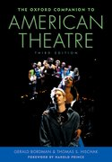 Cover for The Oxford Companion to American Theatre