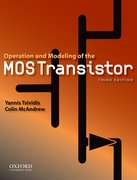 Cover for Operation and Modeling of the MOS Transistor