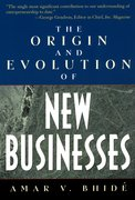 Cover for The Origin and Evolution of New Businesses