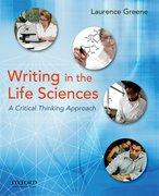 Cover for Writing in the Life Sciences