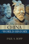 Cover for China in World History