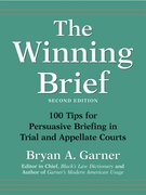 Cover for The Winning Brief