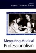 Cover for Measuring Medical Professionalism