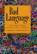 Cover for Bad Language