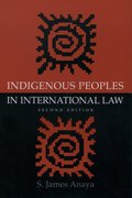 Cover for Indigenous Peoples in International Law