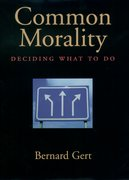 Cover for Common Morality