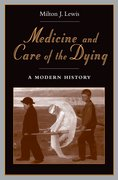Cover for Medicine and Care of the Dying