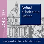 Cover for Oxford Scholarship Online: Religion