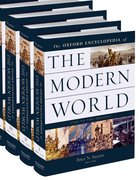 Cover for Oxford Encyclopedia of the Modern World