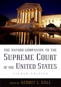 Cover for The Oxford Companion to the Supreme Court of the United States