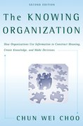 Cover for The Knowing Organization