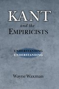 Cover for Kant and the Empiricists
