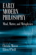Cover for Early Modern Philosophy