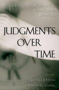 Cover for Judgments over Time