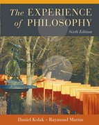 Cover for The Experience of Philosophy