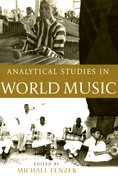 Cover for Analytical Studies in World Music
