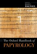 Cover for The Oxford Handbook of Papyrology