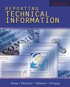 Cover for Reporting Technical Information