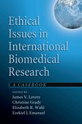 Cover for Ethical Issues in International Biomedical Research