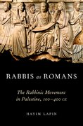 Cover for Rabbis as Romans