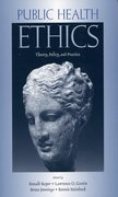 Cover for Public Health Ethics
