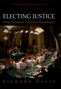 Cover for Electing Justice