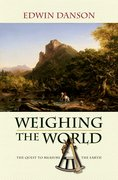 Cover for Weighing the World