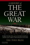 Cover for A History of the Great War
