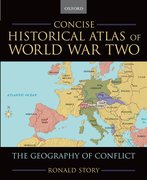 Cover for Concise Historical Atlas of World War Two