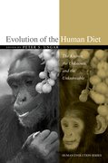 Cover for Evolution of the Human Diet