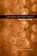 Cover for International Social Work Research