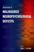 Cover for Assessment of Malingered Neuropsychological Deficits