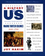 Cover for A History of US: Making Thirteen Colonies