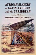 Cover for African Slavery in Latin America and the Caribbean