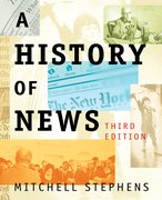 Cover for A History of News