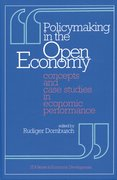 Cover for Policymaking in the Open Economy