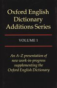 Cover for The Oxford English Dictionary Additions