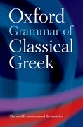 Cover for Oxford Grammar of Classical Greek