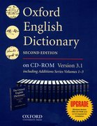 Cover for Oxford English Dictionary CD-ROM Upgrade