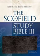 Cover for The Scofield® Study Bible III, NKJV