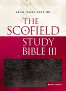 Cover for The Scofield® Study Bible III, KJV