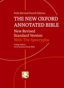 Cover for The New Oxford Annotated Bible with Apocrypha