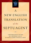 Cover for A New English Translation of the Septuagint